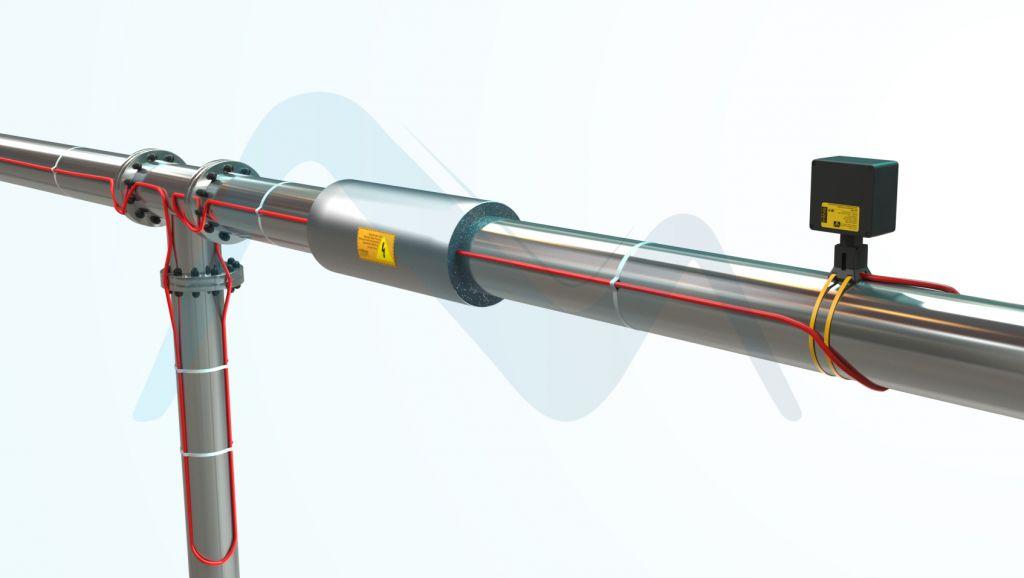 heat tracing ile boru ısıtma